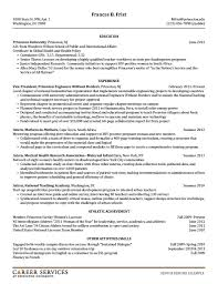 Summer Internship Resume Examples by Resume For Summer Internship Production Assistant Resume Medical