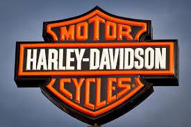 Harley Shower Curtain Harley Davidson Sign Photograph By David Patterson