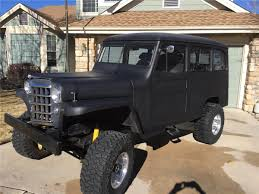 custom willys jeepster 1950 53 willys wagon 4x4 no longer available