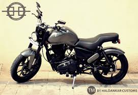 modified bullet bikes pitambari royal enfield thnderbird custom by eimor customs
