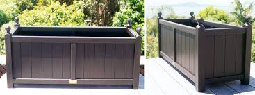 plant troughs new zealand made wooden plant boxes wood trough