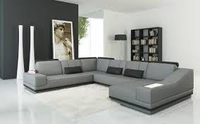 charcoal gray sectional sofa with chaise lounge 30 photos gray leather sectional sofas