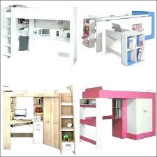 bureau garcon pas cher combine lit bureau lit enfant mezzanine bureau lit sureleve avec