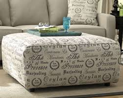 ottoman and matching pillows 4pc vintage casual livingrm collection featuring printdesign ottoman