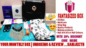 Monthly Clothing Subscription Boxes New Your Monthly Box Subscription Box Discount Code Unboxing