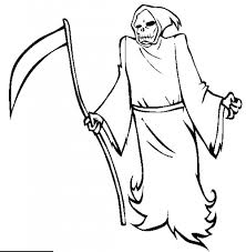 grim reaper coloring pages free grim reaper coloring pages