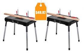 Portable Work Bench Husky Portable Jobsite Workbench 49 97 Orig 69 97 Free