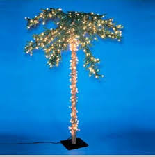 pre lit palm tree artificial trees 7 ft out of stock