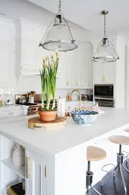 Hudson Valley Lighting Pendant Kitchen With Brass Faucet Transitional Kitchen Zhush Hudson Valley