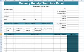 Project Management Templates Excel Get Delivery Receipt Template Excel Xls Free Project Management