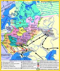 russia map after division ancient russia in xii xiii centuries division into separate