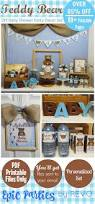 Baby Blue And Brown Baby Shower Decorations Best 25 Bear Baby Showers Ideas On Pinterest Teddy Bear Baby