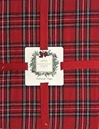 sebastien groome cozy plaid tablecloth tartan