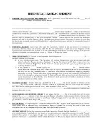 Tenancy Application Cover Letter by Free Rental Agreement Forms Thebridgesummit Co