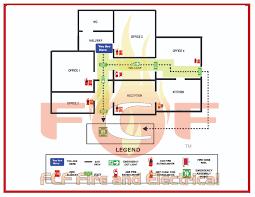 emergency evacuation diagrams deaf u0026 blind safety