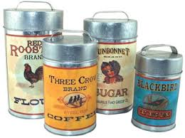 141 best canisters old or new images on pinterest vintage