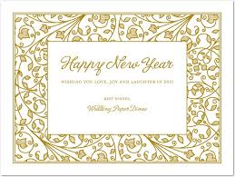 new year card card invitation sles new year s cards business new