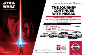 malaysia 24 july 2015 nissan buy a nissan win a star wars themed trip to croatia u2013 drive safe