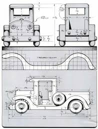 2938 wooden toy pickup truck plans wooden toy plans drewniane