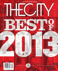 the city magazine december january 2014 by the city magazine el