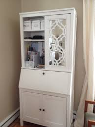Shabby Chic Secretary Desk by Furniture Nightstand Target Mirrored Furniture With Drawers For
