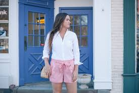 favorite blue favorite shorts for summer and spring simply poised