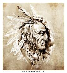 23 best indian warrior tattoo drawings images on pinterest