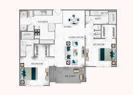 Bc Floor Plans by 1 2 Bedroom Apartments For Rent In Houston Tx Heights At Park
