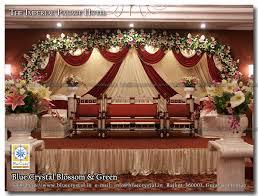 Marriage Decoration Blue Crystal Flora U0026 Decor U2013 Professional Wedding Decoration