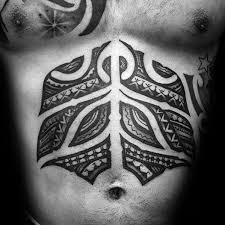 remarkable stomach lower chest tribal tattoos for males