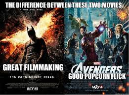Avengers Kink Meme - great filmmaking good popcorn flick the difference between these