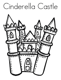 free printable cinderella coloring pages kids