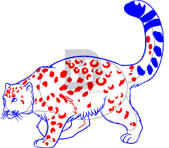 how to draw a snow leopard step by step drawing guide by