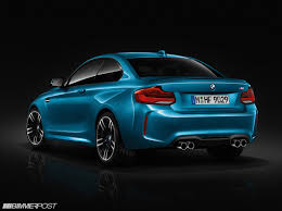 bmw m2 release date official photos of bmw m2 lci facelift