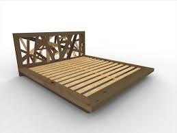 build platform bed frame king this diy platform bed is made 28