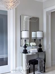 Entryway Color Schemes Black And White Foyer Color Scheme Transitional Entrance Foyer
