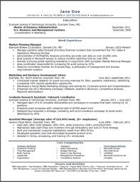 entry level resume entry level resumes examples marketing student