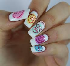 vicky loves nails week of love valentines nail art challenge