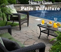 Denver Patio Furniture Impressive Cleaning Patio Furniture How To Clean Outdoor Patio