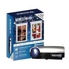 christmas window projection dvd windowfx plus 2017 projector 28088 mp9 the home depot
