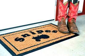 Personalized Outdoor Rugs Outside Door Mats Top Fantastic Custom Door Mats With Logo Outside