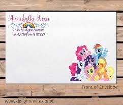 2 innovative my little pony birthday invitations eysachsephoto com