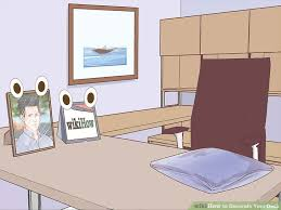 How To Decorate A Desk 5 Ways To Decorate Your Desk Wikihow