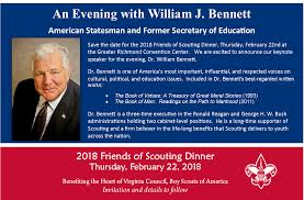 What Are Two Cabinet Level Positions Friends Of Scouting Dinner U2013 February 22 2018