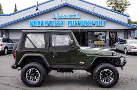 2004 jeep wrangler x 4x4 northwest motorsport
