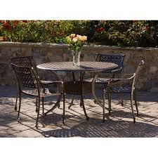 5 Pc Patio Dining Set 900 46 5 Table Tahoe 5 Patio Dining Set Outdoor