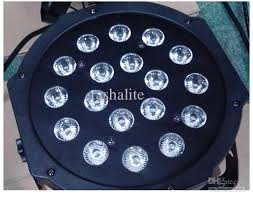 lights for sale best sell 18 3w high power rgb led par light with dmx512 master