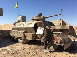 civilian armored vehicles ypg improvised armored vehicle with bmp 1 syria liveuamap com
