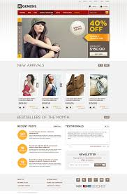 life style modern online store design by r genesis themeforest