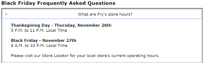 fry s electronics black friday 2015 store hours revealed the